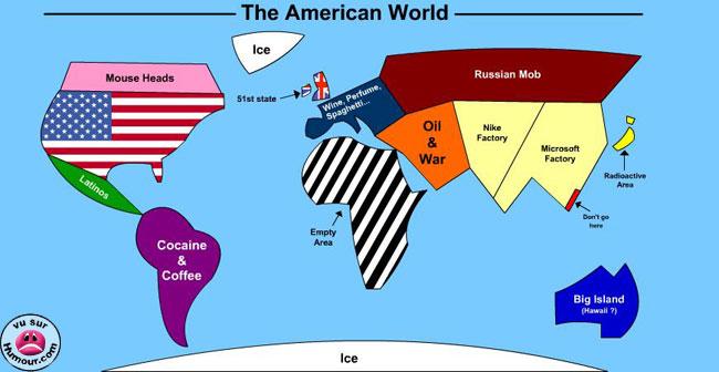 Wie Amerika die Welt sieht